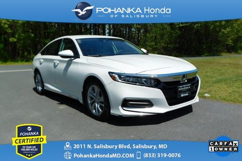 2018_Honda_Accord_LX ** Pohanka Certified 10 Year / 100,000  **_ Salisbury MD