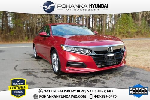 2018_Honda_Accord_LX **ONE OWNER**_ Salisbury MD