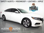 2018 Honda Accord Sedan EX-L 1.5T *BACKUP-CAMERA, TOUCH-SCREEN, BLIND SPOT ALERT, LANE DEPARTURE ALERT, LEATHER, HEATED SEATS, MOONROOF, BLUETOOTH PHONE & AUDIO, APPLE CARPLAY