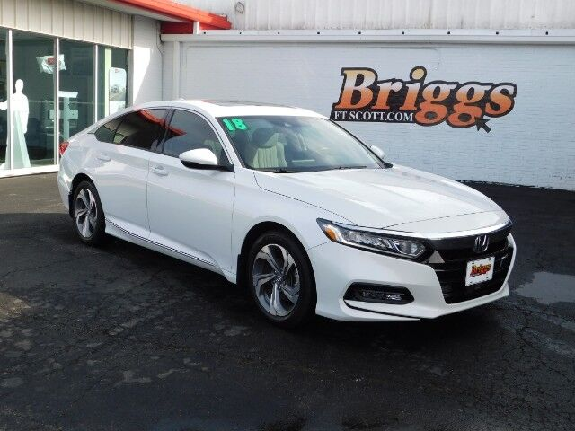 2018 Honda Accord Sedan EX-L 1.5T CVT Fort Scott KS