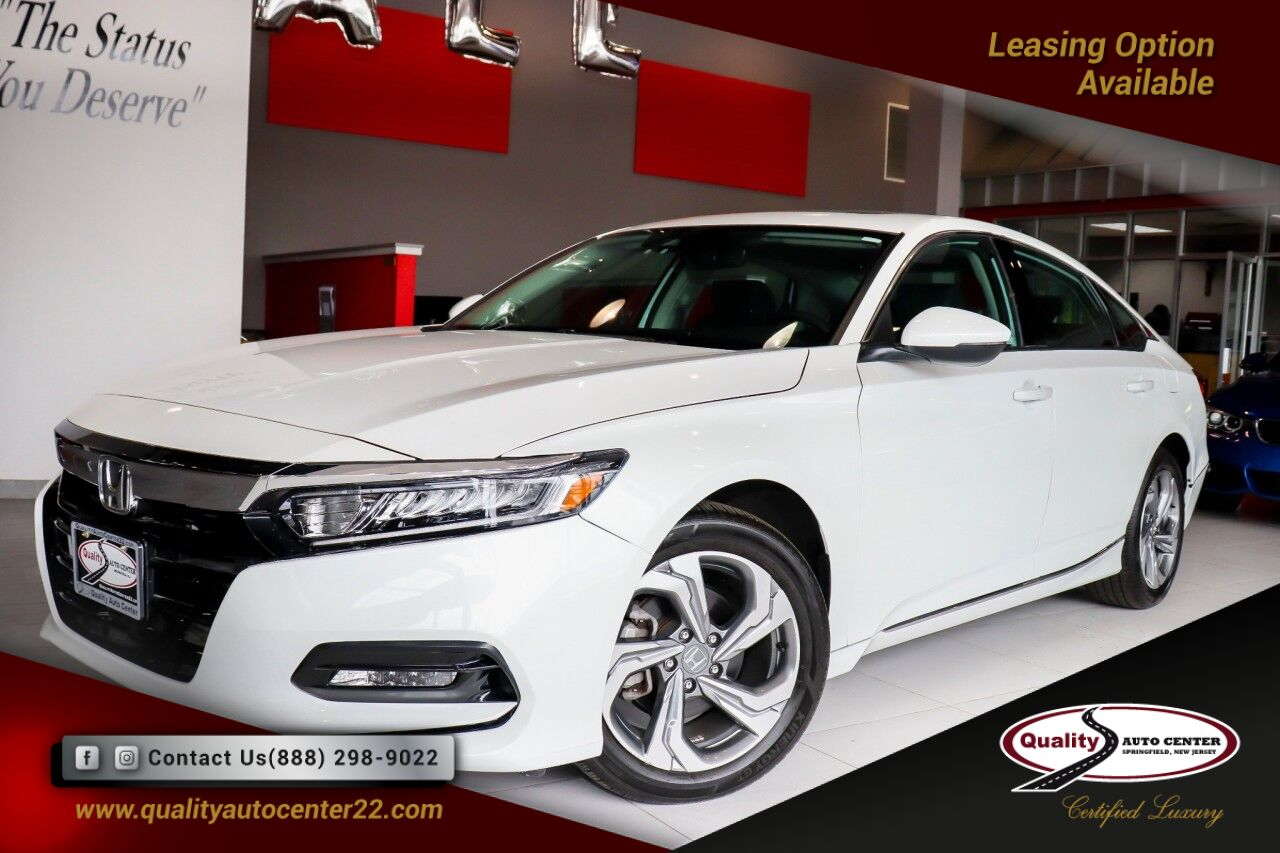 2018 Honda Accord Sedan EX-L Navigation 1.5T Only 4K Miles 1 Owner Springfield NJ