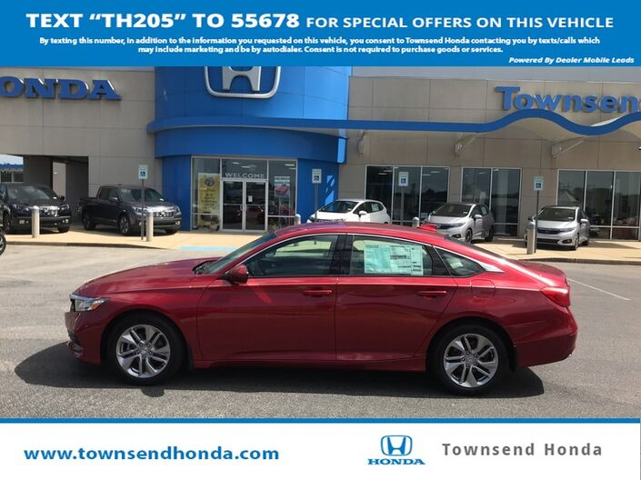 2018 Honda Accord Sedan LX 1.5 T Tuscaloosa AL