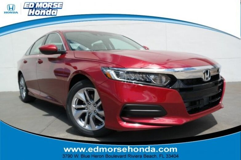 2018 Honda Accord Sedan LX 1.5T CVT Riviera Beach FL