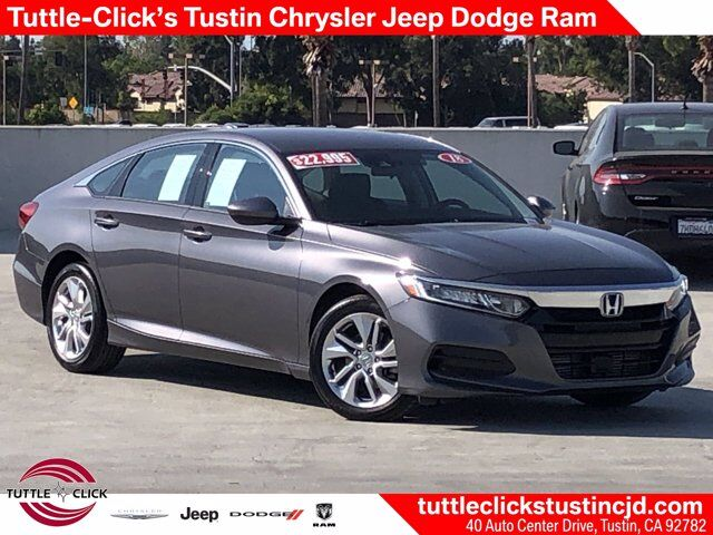 2018 Honda Accord Sedan LX 1.5T Tustin CA