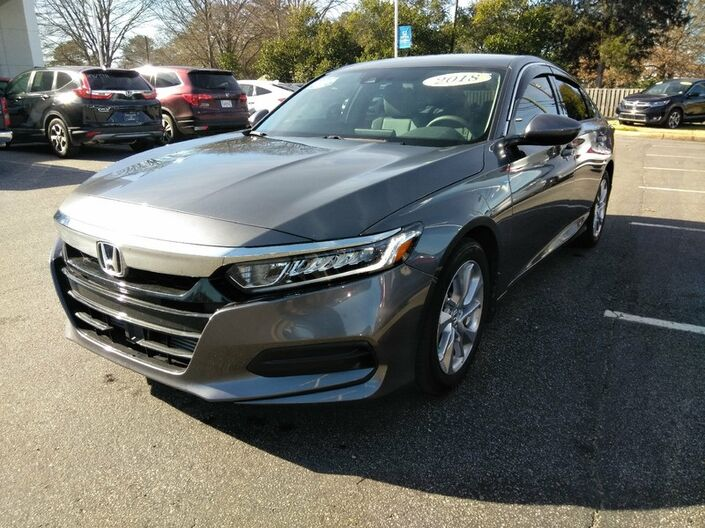 2018 Honda Accord Sedan LX 1.5T Tuscaloosa AL