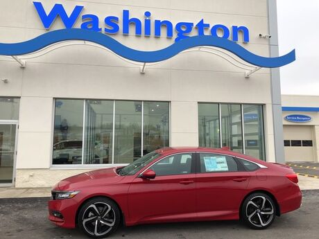 2018 Honda Accord Sedan Sport 1.5T CVT Washington PA