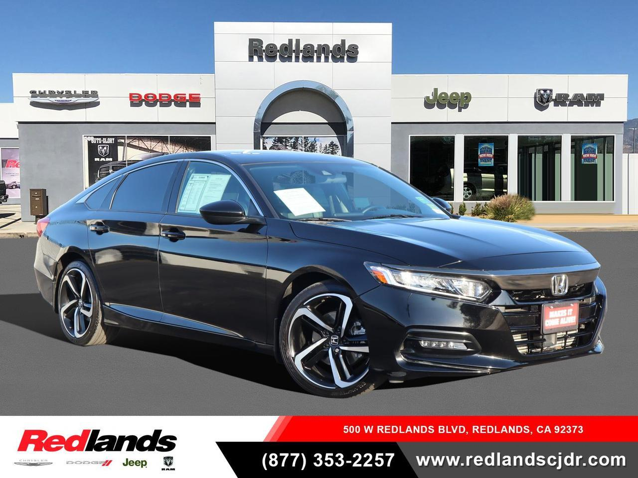 2018 Honda Accord Sedan Sport 1.5T Redlands CA