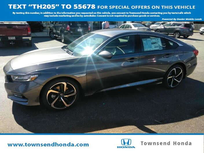2018 Honda Accord Sedan Sport 1.5T Tuscaloosa AL