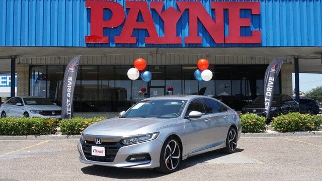 2018 Honda Accord Sedan Sport 2.0T Brownsville TX