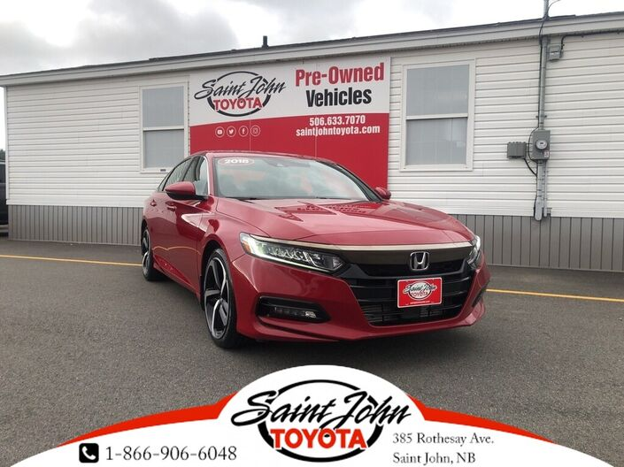 2018 Honda Accord Sedan Sport Saint John NB