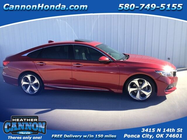 2018 Honda Accord Sedan Touring 1.5T Ponca City OK