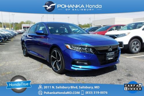 2018_Honda_Accord_Sport ** Honda True Certified 7 Year / 100,000  **_ Salisbury MD