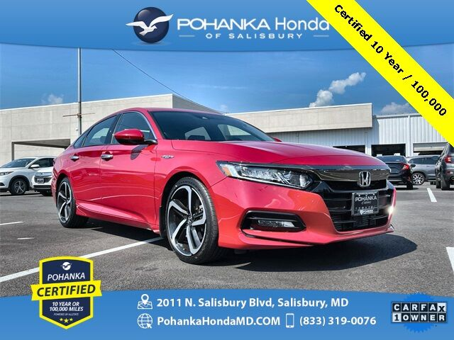 2018 Honda Accord Sport ** Pohanka Certified 10 Year / 100,000 ** Salisbury MD