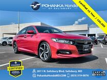 2018 Honda Accord Sport ** Pohanka Certified 10 Year / 100,000 **