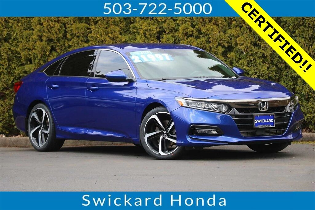 2018 Honda Accord Sport Gladstone OR