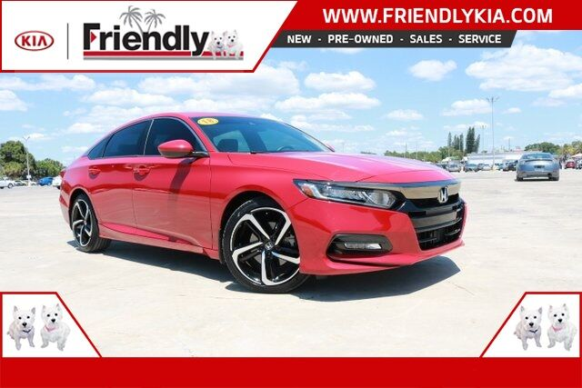 2018 Honda Accord Sport New Port Richey FL