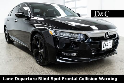 2018 Honda Accord Touring 2.0T Lane Departure Blind Spot Frontal Collision Wa Portland OR