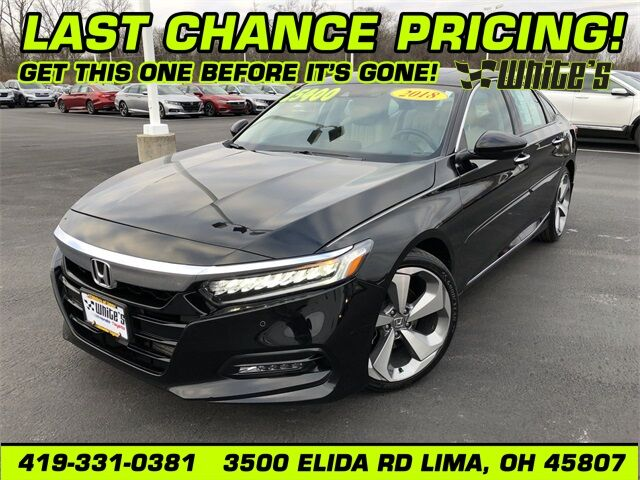 2018 Honda Accord Touring 2.0T Lima OH