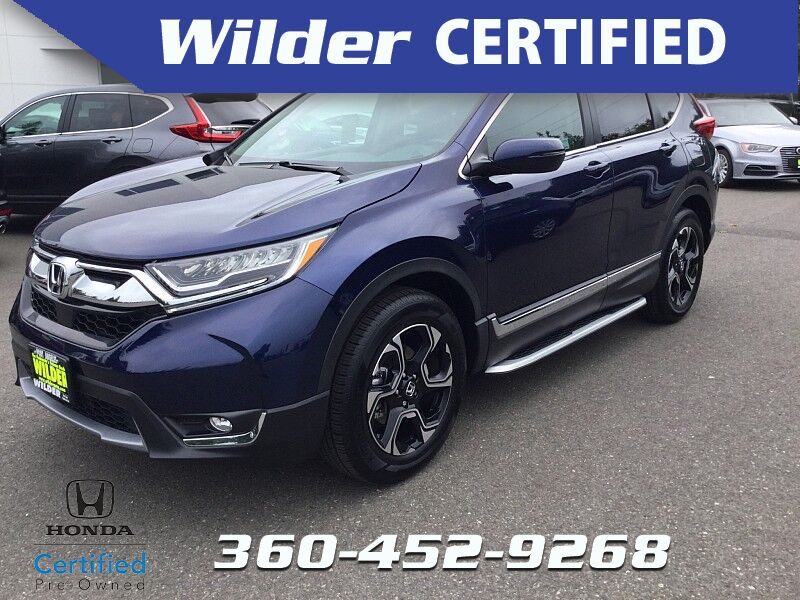 2018 Honda CR-V 4d SUV AWD Touring Port Angeles WA