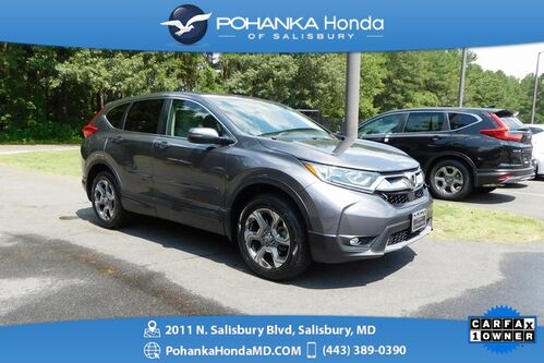 2018_Honda_CR-V_EX AWD ** 1 Owner ** Honda Certified 7 Years/ 100,000_ Salisbury MD