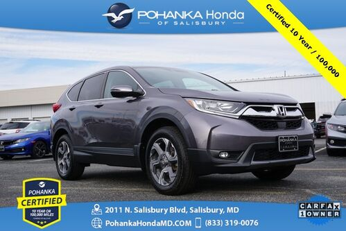 2018_Honda_CR-V_EX AWD ** Pohanka Certified 10 Year / 100,000  **_ Salisbury MD