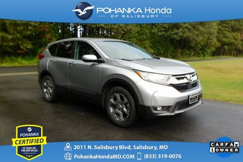 2018_Honda_CR-V_EX-L AWD ** Honda True Certified 7 Year / 100,000  **_ Salisbury MD