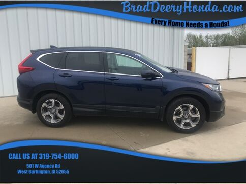 2018_Honda_CR-V_EX_ West Burlington IA