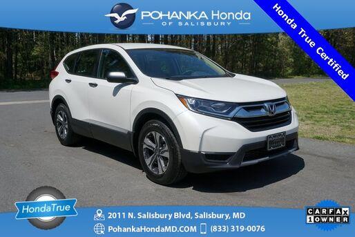2018_Honda_CR-V_LX ** Honda True Certified 7 Year / 100,000  **_ Salisbury MD