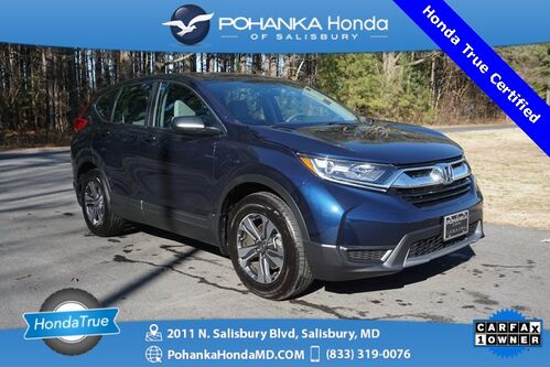 2018_Honda_CR-V_LX ** Honda True Certified 7 Year / 100,000  **_ Salisbury MD