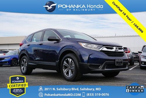 2018_Honda_CR-V_LX ** Pohanka Certified 10 Year / 100,000  **_ Salisbury MD