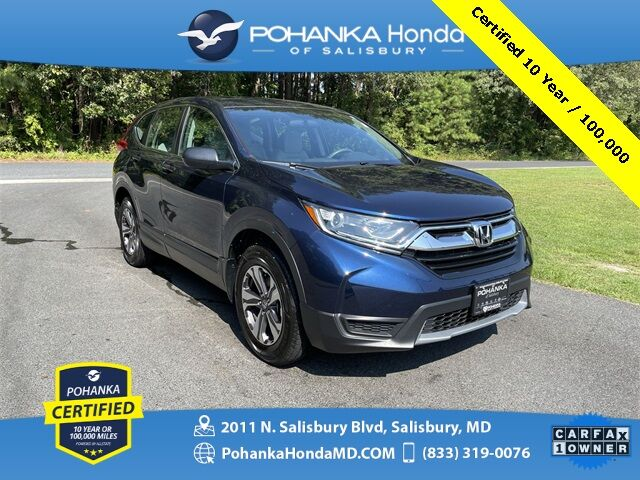 2018 Honda CR-V LX ** Pohanka Certified 10 Year / 100,000 ** Salisbury MD