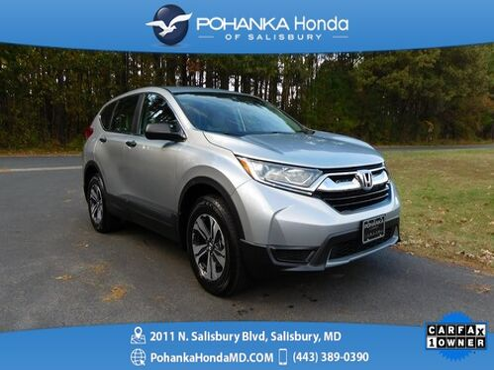 2018_Honda_CR-V_LX AWD ** Honda True Certified 7 Year / 100,000  **_ Salisbury MD