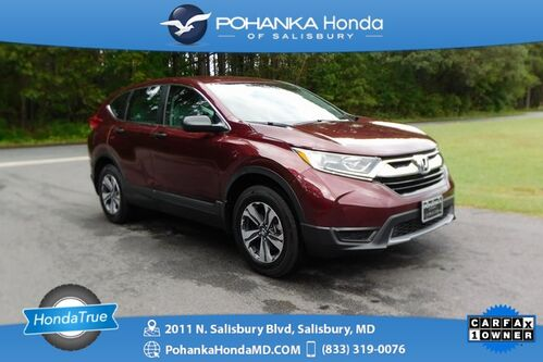 2018_Honda_CR-V_LX AWD ** Honda True Certified 7 Year / 100,000  **_ Salisbury MD