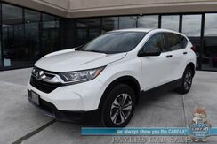 2018_Honda_CR-V_LX / AWD / Automatic / Power Locks & Windows / Bluetooth / Back Up Camera / Cruise Control / Only 18k Miles / 31 MPG / 1-Owner_ Anchorage AK
