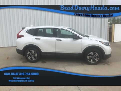 2018_Honda_CR-V_LX_ West Burlington IA