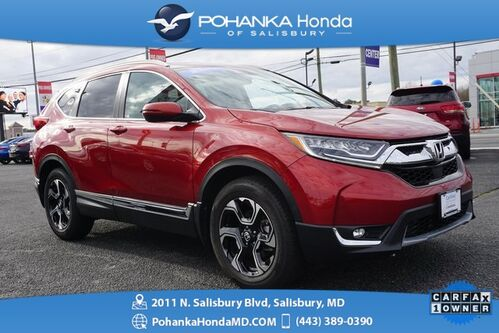 2018_Honda_CR-V_Touring AWD ** 1 OWNER ** Honda Certified 7 Year/100,000 *_ Salisbury MD
