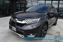 2018_Honda_CR-V_Touring / AWD / Auto Start / Power & Heated Leather Seats / Navigation / Sunroof / Adaptive Cruise Control / Lane Departure & Blind Spot Alert / Bluetooth / Back Up Camera / Tow Pkg / 1-Owner_ Anchorage AK