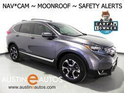 2018_Honda_CR-V Touring AWD_*NAVIGATION, COLLISION MITIGATION, BLIND SPOT & LANE DEPARTURE ALERT, MOONROOF, LEATHER, PREMIUM AUDIO, POWER LIFTGATE, APPLE CARPLAY_ Round Rock TX
