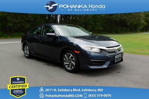 2018_Honda_Civic_EX ** Honda True Certified 7 Year / 100,000  **_ Salisbury MD
