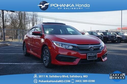 2018_Honda_Civic_EX ** SUNROOF & REAR VIEW CAMERA ** ONE OWNER **_ Salisbury MD