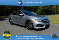 2018 Honda Civic EX-L ** Pohanka Certified 10 Year / 100,000  **