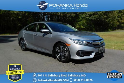 2018_Honda_Civic_EX-L ** Pohanka Certified 10 Year / 100,000  **_ Salisbury MD