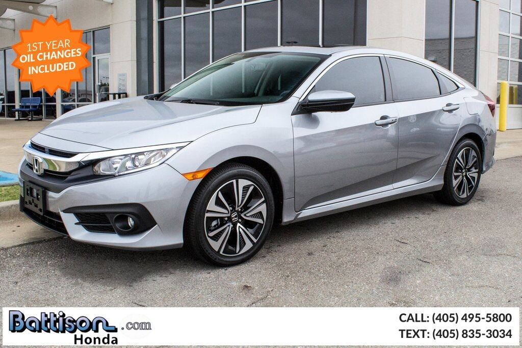 2018_Honda_Civic_EX-L_ Oklahoma City OK