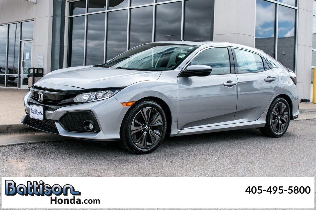 2018_Honda_Civic_EX_ Oklahoma City OK