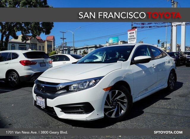 2018 Honda Civic EX San Francisco CA