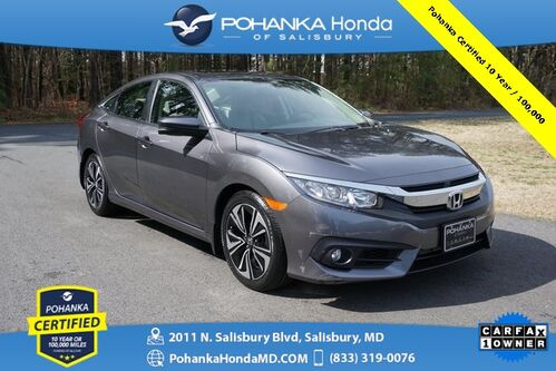 2018_Honda_Civic_EX-T ** Pohanka Certified 10 Year / 100,000 **_ Salisbury MD