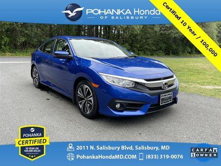 2018_Honda_Civic_EX-T ** Pohanka Certified 10 Year / 100,000**_ Salisbury MD