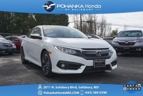 2018_Honda_Civic_EX-T ** Turbocharged ** SUNROOF ** ONE OWNER **_ Salisbury MD