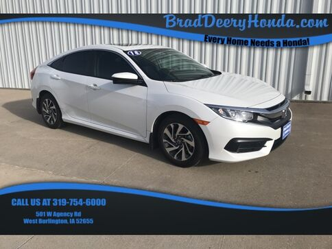 2018_Honda_Civic_EX_ West Burlington IA