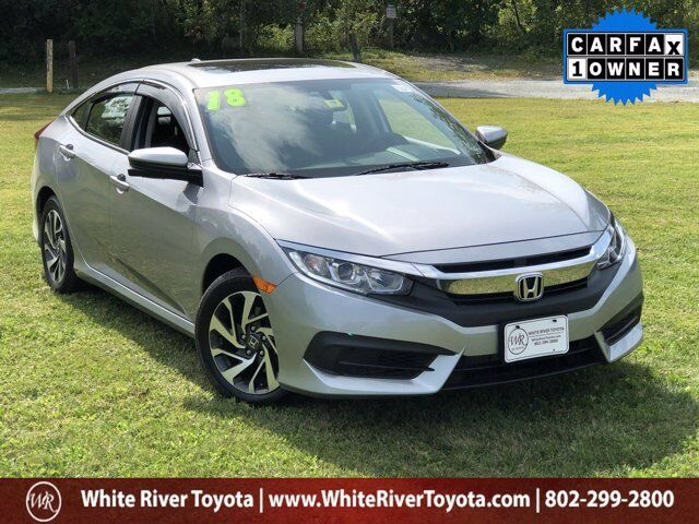 2018 Honda Civic EX White River Junction VT